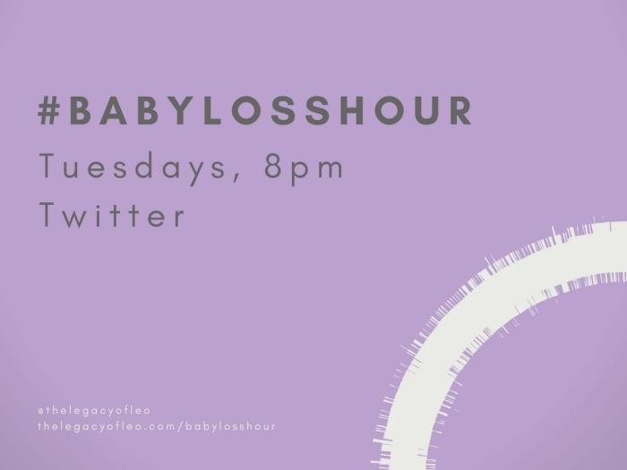 #babylosshour